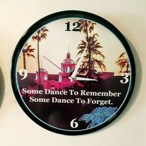 New Homemade Wall Art - THE EAGLES - HOTEL CALIFORNIA -12IN WALL CLOCK NEW